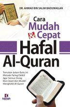 Cara Mudah dan Cepat Hafal Al-Quran